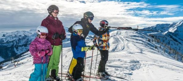 Family skiing packages